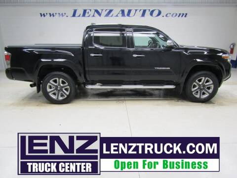 2017 Toyota Tacoma for sale at LENZ TRUCK CENTER in Fond Du Lac WI