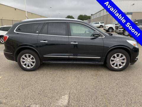 2015 Buick Enclave for sale at LENZ TRUCK CENTER in Fond Du Lac WI