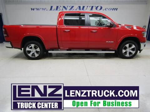 2019 RAM Ram Pickup 1500 for sale at LENZ TRUCK CENTER in Fond Du Lac WI