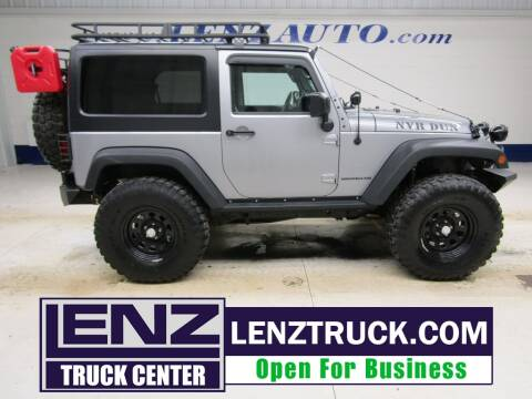 2016 Jeep Wrangler for sale at LENZ TRUCK CENTER in Fond Du Lac WI