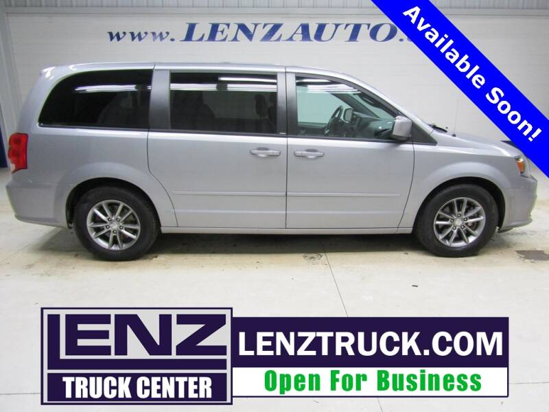 2014 Dodge Grand Caravan for sale at LENZ TRUCK CENTER in Fond Du Lac WI