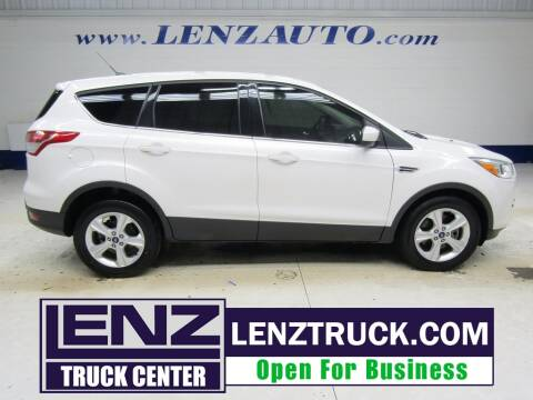 2013 Ford Escape for sale at LENZ TRUCK CENTER in Fond Du Lac WI