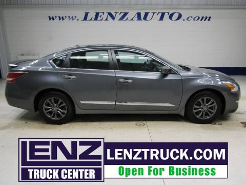 2015 Nissan Altima for sale at LENZ TRUCK CENTER in Fond Du Lac WI