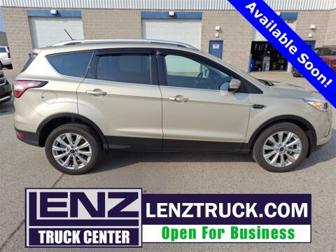 2018 Ford Escape for sale at LENZ TRUCK CENTER in Fond Du Lac WI