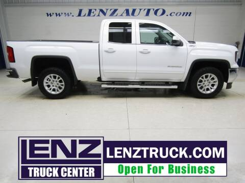 2018 GMC Sierra 1500 for sale at LENZ TRUCK CENTER in Fond Du Lac WI