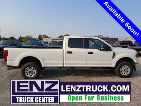 2018 Ford F-350 Super Duty for sale at LENZ TRUCK CENTER in Fond Du Lac WI