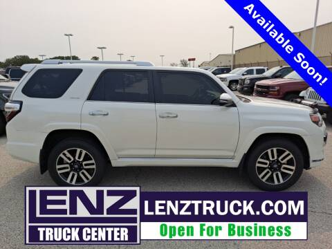 2015 Toyota 4Runner for sale at LENZ TRUCK CENTER in Fond Du Lac WI