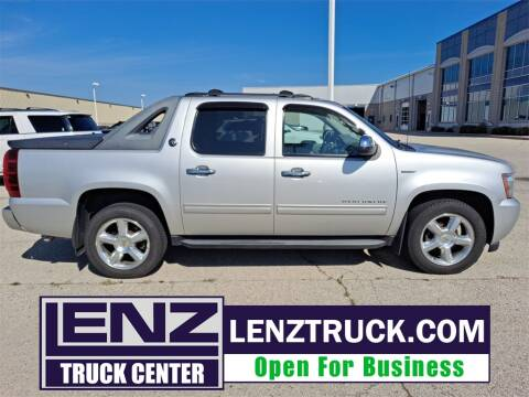 2011 Chevrolet Avalanche for sale at LENZ TRUCK CENTER in Fond Du Lac WI