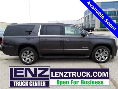 2015 GMC Yukon XL for sale at LENZ TRUCK CENTER in Fond Du Lac WI