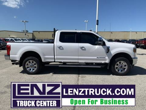 2019 Ford F-250 Super Duty for sale at LENZ TRUCK CENTER in Fond Du Lac WI