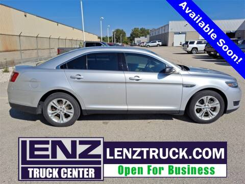 2016 Ford Taurus for sale at LENZ TRUCK CENTER in Fond Du Lac WI