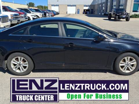 2013 Hyundai Sonata for sale at LENZ TRUCK CENTER in Fond Du Lac WI