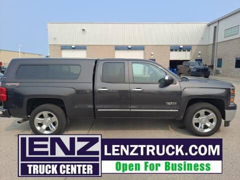2014 Chevrolet Silverado 1500 for sale at LENZ TRUCK CENTER in Fond Du Lac WI