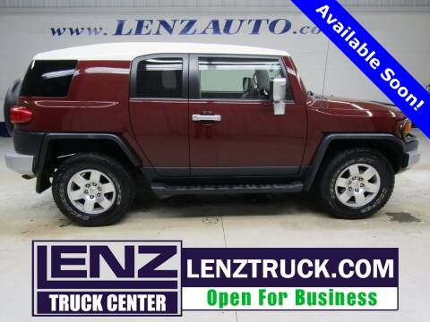 2008 Toyota FJ Cruiser for sale at LENZ TRUCK CENTER in Fond Du Lac WI