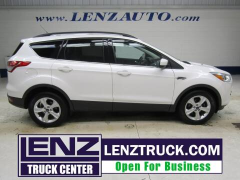 2016 Ford Escape for sale at LENZ TRUCK CENTER in Fond Du Lac WI