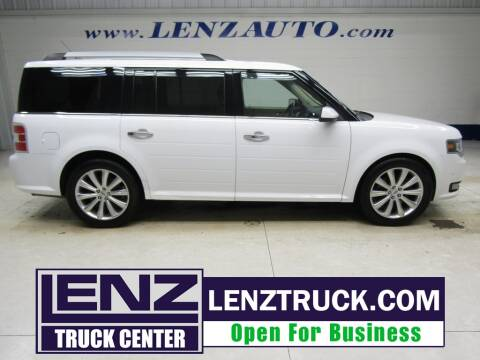 2016 Ford Flex for sale at LENZ TRUCK CENTER in Fond Du Lac WI