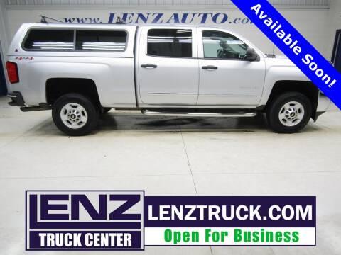 2015 Chevrolet Silverado 2500HD for sale at LENZ TRUCK CENTER in Fond Du Lac WI