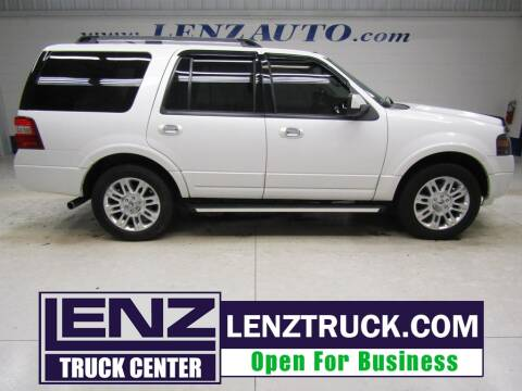 2012 Ford Expedition for sale at LENZ TRUCK CENTER in Fond Du Lac WI