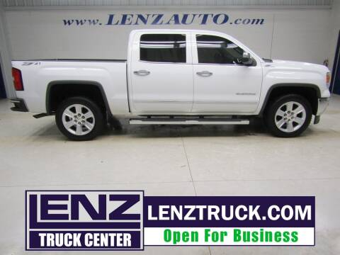 2014 GMC Sierra 1500 for sale at LENZ TRUCK CENTER in Fond Du Lac WI