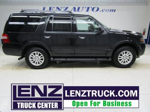 2014 Ford Expedition for sale at LENZ TRUCK CENTER in Fond Du Lac WI