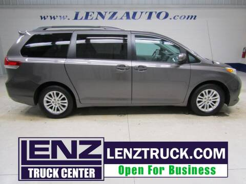2013 Toyota Sienna for sale at LENZ TRUCK CENTER in Fond Du Lac WI