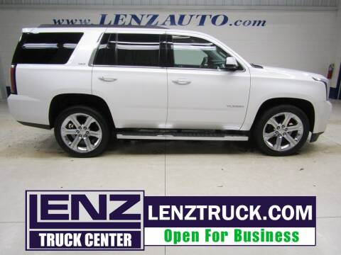 2016 GMC Yukon for sale at LENZ TRUCK CENTER in Fond Du Lac WI