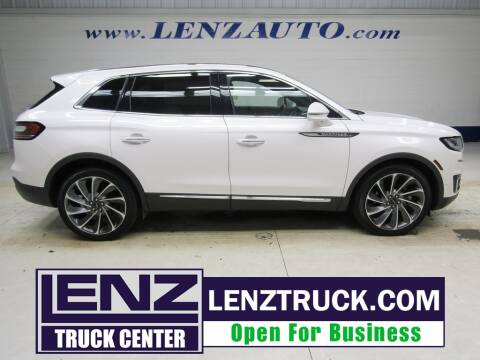 2019 Lincoln Nautilus for sale at LENZ TRUCK CENTER in Fond Du Lac WI