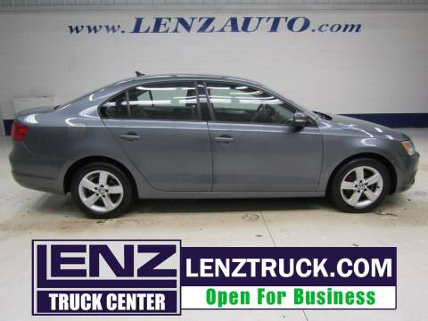 2012 Volkswagen Jetta for sale at LENZ TRUCK CENTER in Fond Du Lac WI