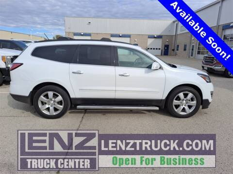 2016 Chevrolet Traverse for sale at LENZ TRUCK CENTER in Fond Du Lac WI