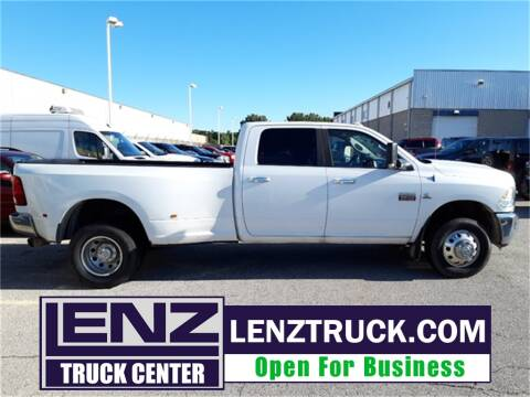 2012 RAM Ram Pickup 3500 for sale at LENZ TRUCK CENTER in Fond Du Lac WI