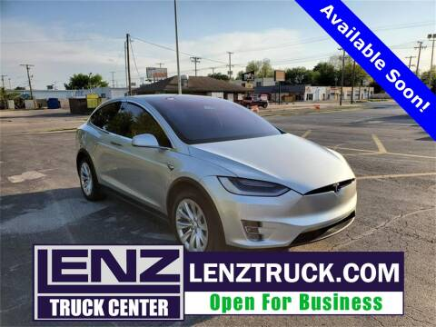 2018 Tesla Model X for sale at LENZ TRUCK CENTER in Fond Du Lac WI