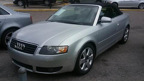 2003 Audi A4 for sale at Fletcher Auto Sales in Augusta GA