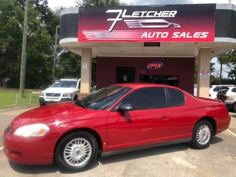 2007 Chevrolet Monte Carlo For Sale At Fletcher Auto Sales In Augusta GA