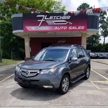 2007 Acura MDX for sale at Fletcher Auto Sales in Augusta GA