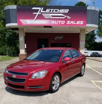 2012 Chevrolet Malibu for sale at Fletcher Auto Sales in Augusta GA