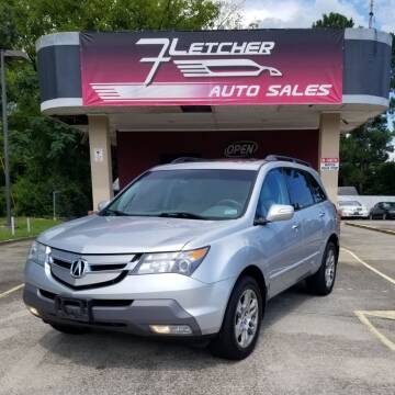 2008 Acura MDX for sale at Fletcher Auto Sales in Augusta GA