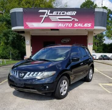 2010 Nissan Murano for sale at Fletcher Auto Sales in Augusta GA