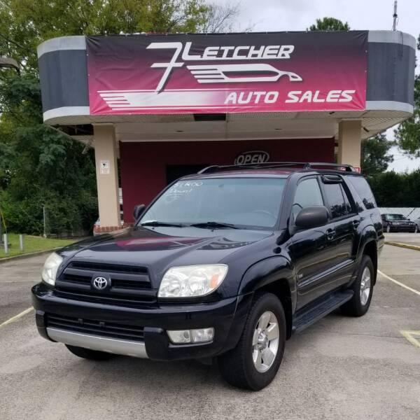 2004 Toyota 4Runner for sale at Fletcher Auto Sales in Augusta GA