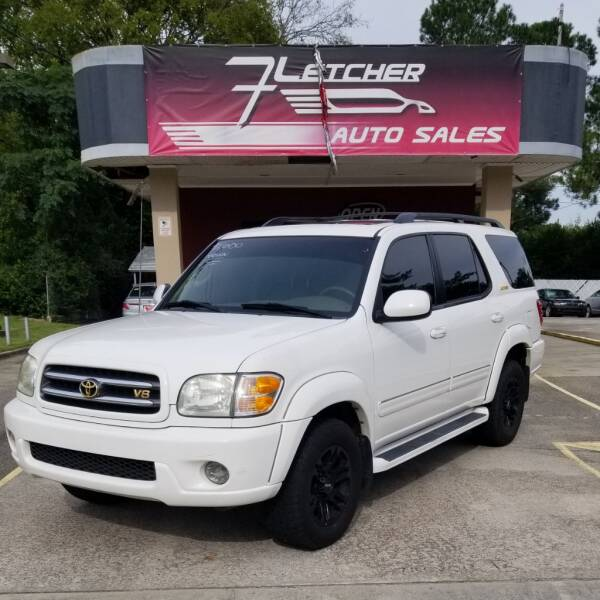 2003 Toyota Sequoia for sale at Fletcher Auto Sales in Augusta GA