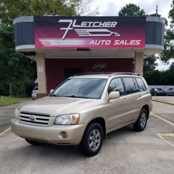 2005 Toyota Highlander for sale at Fletcher Auto Sales in Augusta GA