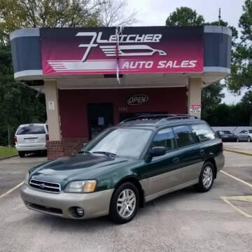 2001 Subaru Outback for sale at Fletcher Auto Sales in Augusta GA