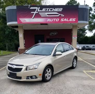 2011 Chevrolet Cruze for sale at Fletcher Auto Sales in Augusta GA