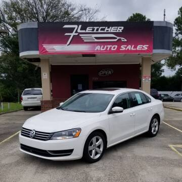 2012 Volkswagen Passat for sale at Fletcher Auto Sales in Augusta GA