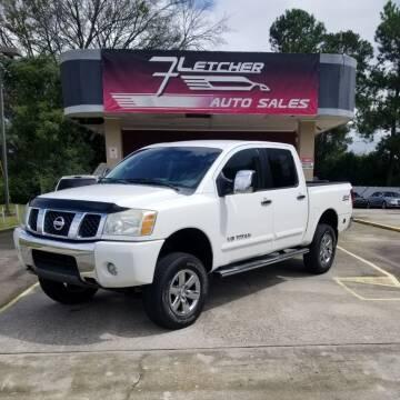 2006 Nissan Titan for sale at Fletcher Auto Sales in Augusta GA