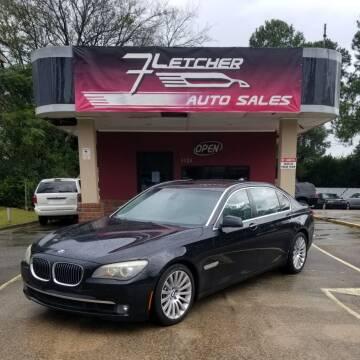 2009 BMW 7 Series for sale at Fletcher Auto Sales in Augusta GA
