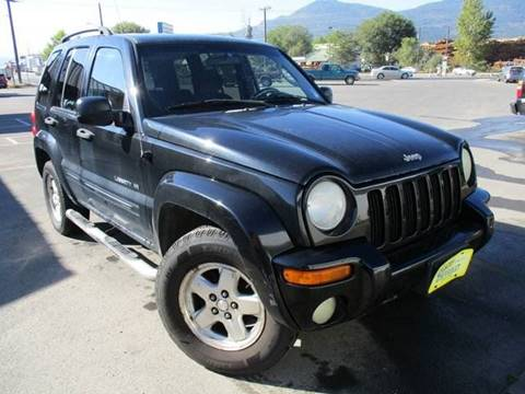 2002 Jeep Liberty for sale in Colville, WA