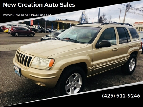 1999 Jeep Grand Cherokee for sale in Everett, WA