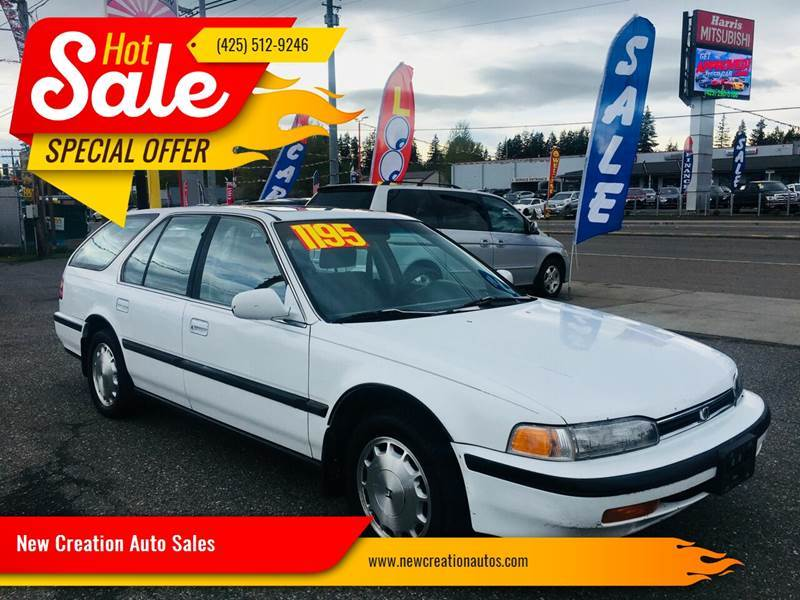 1992 Honda Accord for sale in Everett, WA