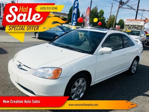 2002 Honda Civic for sale in Everett, WA