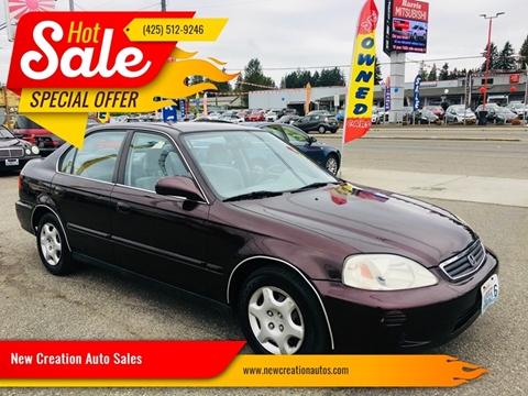 2000 Honda Civic for sale in Everett, WA